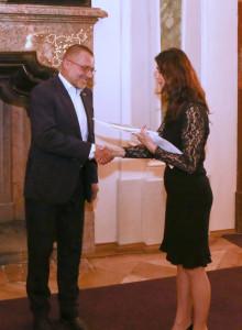 Gabriela Křivánková a Otakar Klepárník