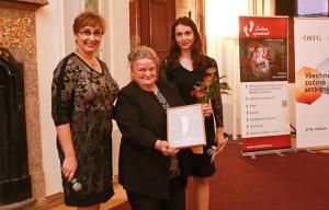 Jana Merunková, Jarmila Dolejšková a Gabriela Křivánková